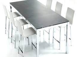 hauteur table de cuisine hauteur table salle a manger dimensions table a manger gallery of