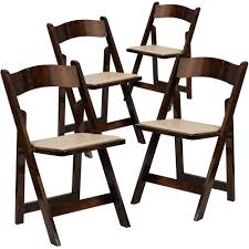 4 Pk. HERCULES Series Fruitwood Wood Folding Chair With Vinyl Padded Seat Wood Folding Chairs With Padded Seat White Wooden Are Very Comfortable And Premium 2 Thick Vinyl Chair By National Public Seating 3200 Series Padded Folding Chairs Vintage Timber Trestle Tables Natural With Ivory Resin Shaker Ladder Back Hardwood Chair Fruitwood Contoured Hercules Wedding Ceremony Buy Seatused Chairsseat Cushions Cosco 4pack Black Walmartcom