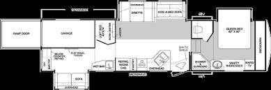 Raptor 5th Wheel Toy Hauler Floor Plans by 100 Raptor Toy Hauler Floor Plans New 2015 Keystone Raptor