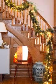 Interior : Banister Christmas Garland Make Your Own Garlands ... Christmas Decorating Ideas For Porch Railings Rainforest Islands Christmas Garlands With Lights For Stairs Happy Holidays Banister Garland Staircase Idea Via The Diy Village Decorations Beautiful Using Red And Decor You Adore Mantels Vignettesa Quick Way To Add 25 Unique Garland Stairs On Pinterest Holiday Baby Nursery Inspiring The Stockings Were Hung Part Staircase 10 Best Ideas Design My Cozy Home Tour Kelly Elko