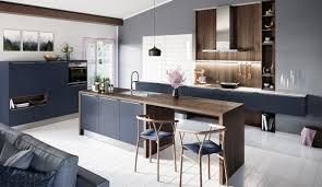 design einbauküche systema 6000 samtblau lack küchenquelle