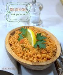 cuisiner le boulgour boulgour au poivron vert recettes faciles recettes