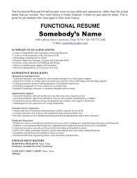 One Job Resume Examples