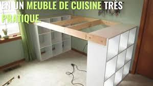 construire cuisine comment construire une cuisine à partir de 3 étagères ikéa