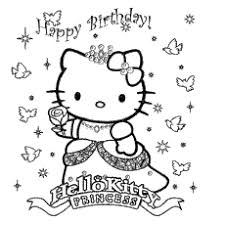 Marvellous Ideas Coloring Pages Birthday Cards Colorful Kitty Card Cute Monster Wishing