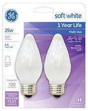 ge 120v 25w light bulbs ebay