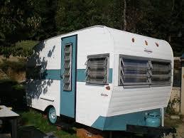 Vintage Camper Retro Antique 1960s 1970s Old