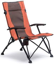 Camping Folding Chair High Back Portable With Carry Bag Easy ...