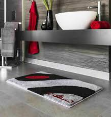 quadratische badvorleger teppiche