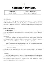 Resume Format Examples For Job Film Best Formats Free Samples