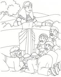 165 Best Bible Joseph Images On Pinterest Throughout And His Brothers Coloring Page