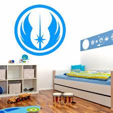 Star Wars Room Decor Uk by Aliexpress Com Buy Jedi Order Symbol Star Wars Wall Art Sticker