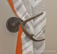 Antler Curtain Tie Backs by Woodland Nursery Antler Curtain Tie Backs Designs I