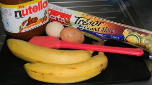 tresse pâte feuilletée chocolat banane facile rapide simple