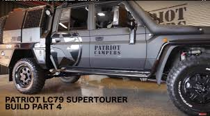 Patriot Campers LC79 Supertourer Black - Build Part 4 - YouTube