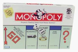 Monopoly Board Game Box