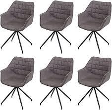 6x esszimmerstuhl hwc h44 küchenstuhl stuhl drehbar auto