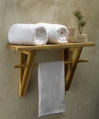 Bath Shelves With Towel Bar by Contemporary Bathroom Shelves For Smart Bathroom Ideas