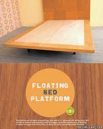 wooden tile headboard and floating bed platform u0026 video martha