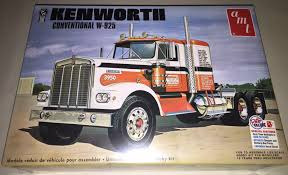 AMT Kenworth W925 Conventional Tractor 1/25 Scale Truck Model Kit ... Crossrc Bc8 Mammoth 112 Scale 8x8 Off Road Military Truck Kit Building Experience T19 Products Ingmar Spijkhoven Vintage 1970s Amt Chevy Bison 125 Semi Tractor Cab Model Kits For Sale Best Resource Amazoncom White Western Star Toys Freightliner 2in1 Scdd Cabover 75th Rare Amt Peterbilt Wrecker T533 Convoy Mack Plastic Ats Mods Australian Army Diamond Reo Semitrailer Meng Us M911 Chet 8x6 M747 Heavy Equipment Semitrailer 135 Tamiya America Inc 114 King Hauler Horizon Hobby