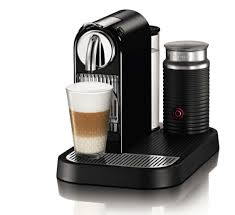 Nespresso D121 US BK NE1 Citiz Espresso Maker With Aeroccino Milk Frother