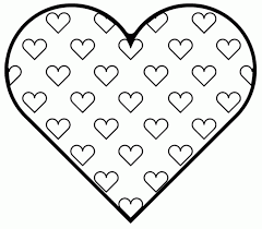 Hearts Wings Coloring Pages Heart Color