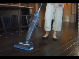 Bissell Hardwood Floor Cleaners by Easy Cleaning Bissell Steam U0026 Sweep Hard Floor Review