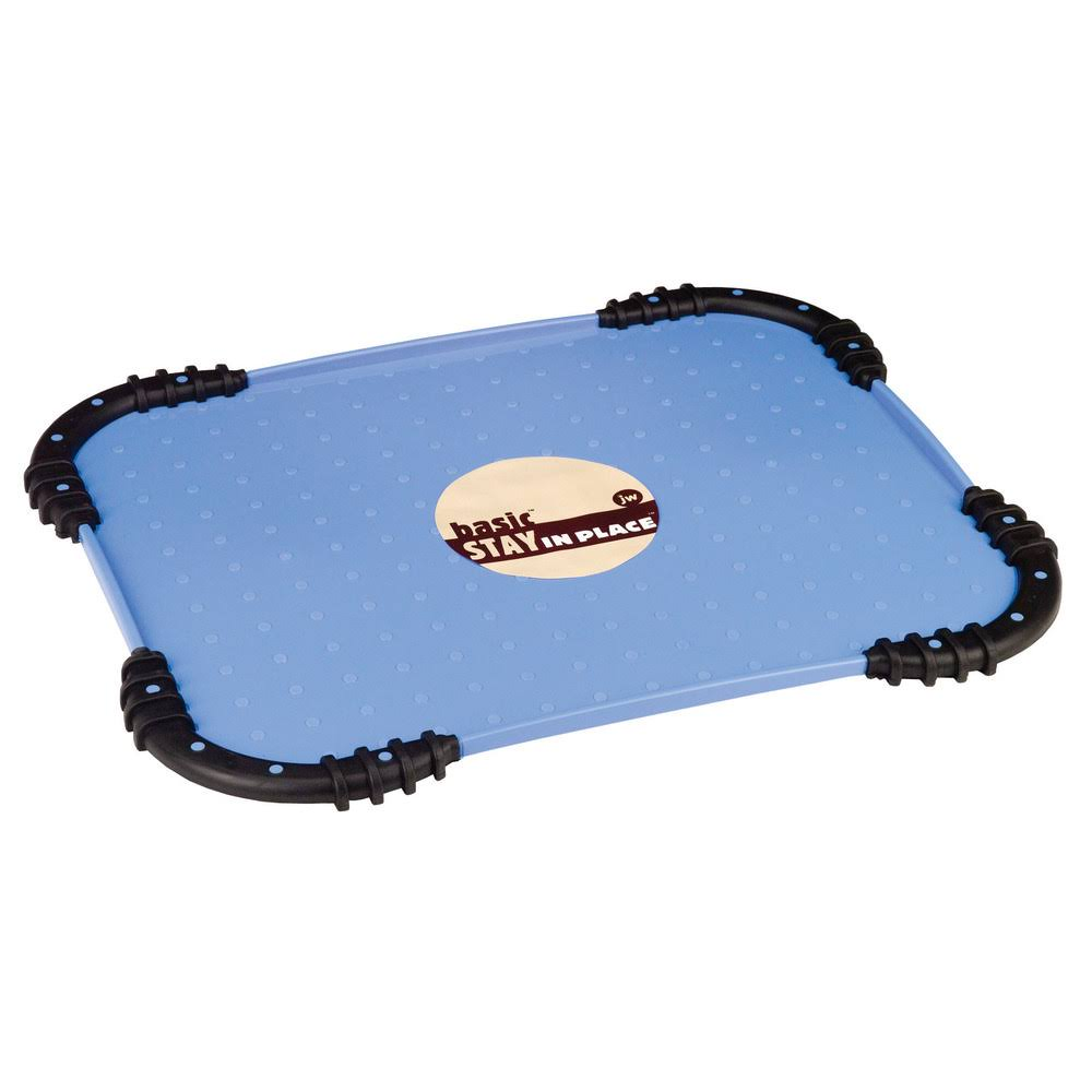 Jw Pet Company Basic Stay in Place Mat - Blue