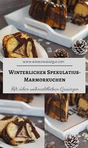 winterlicher spekulatius marmorkuchen