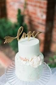 Rustic Heart Wedding Cake Topper