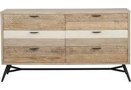 Midtown Loft Natural Dresser Dressers Light Wood