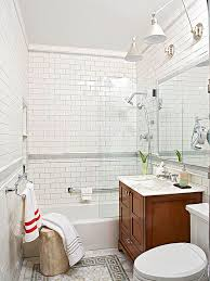 make a small bath look larger better homes gardens