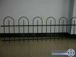 Decorative Garden Fence Border by Inspirations Metal Garden Fencing With Wrought Iron Decorative