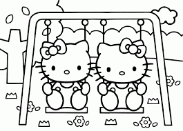 Free Printable Hello Kitty Coloring Pages For Kids In Printing