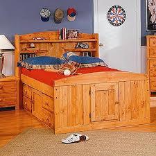 Trendwood Bunk Beds by Bunkhouse Palomino Full Captain U0027s Bed Nebraska Furniture Mart