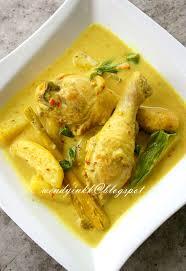 api cuisine table for 2 or more ayam masak lemak cili api chicken in
