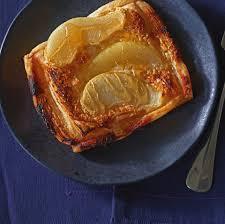 blätterteig birnen teilchen rezept