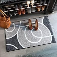tapis d entrée achat vente de tapis paillasson gris 50x75cm