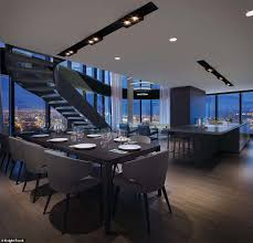 100 Penthouse Story Inside The Luxury Twostory Penthouse Apartment Rises For