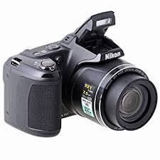 Nikon Coolpix L810 Digital Camera Black 3 inch LCD Amazon