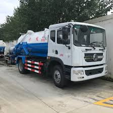 100 Sewer Truck China Good Price 5ton 6ton 7ton Fecal Sewage Tank
