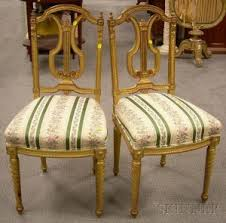 Lyre Back Chairs Antique by Search All Lots Skinner Auctioneers