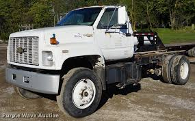 100 Kodiak Trucks 1990 Chevrolet Truck Cab And Chassis Item DD6652