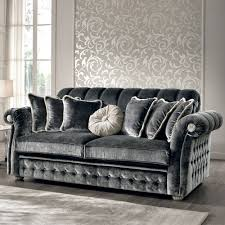 canapé style italien canapé 3 places en tissu de style baroque fait en italie florence