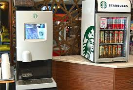 Starbucks Coffee Maker Machine Vending Machines Barista Espresso