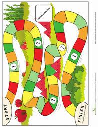 Kindergarten Offline Games Worksheets Simple Board Game