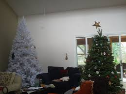 Walmart White Christmas Trees Pre Lit by Best Of White Christmas Trees Walmart Home Designs Ideas