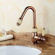 ddkd luxus waschbecken armaturen ziehen gold badezimmer