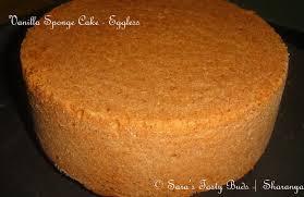 SARA S TASTY BUDS Eggless Vanilla Sponge Cake