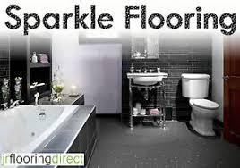 grey sparkly bathroom flooring glitter effect vinyl floor